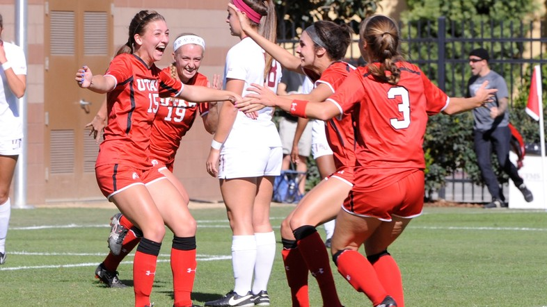 """<p>NOVEMBER - Utah women's soccer also made program history in 2016. Their <a href=""""http://pac-12.com/videos/recap-utah-womens-soccer-beats-fsu-last-minute-goal-moves-sweet-16"""" target=""""_blank"""">2-1 upset victory over No. 10 Florida State</a> sent them to the third round of the NCAA tournament for the first time in Utes history.</p>"""