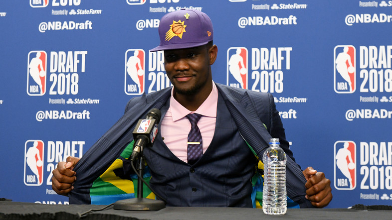 After helping Arizona grab the Pac-12 regular season and tourney title, Deandre Ayton was selected by the Phoenix Suns as the No. 1 overall pick in the 2018 NBA Draft.