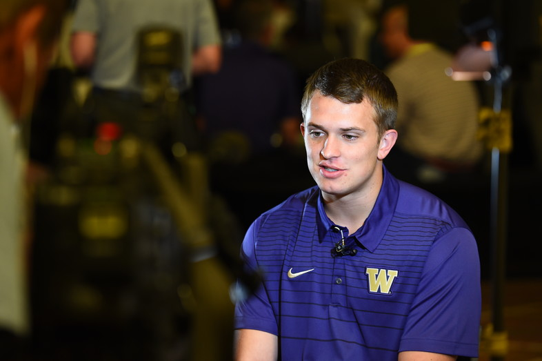 <p>Washington's Jake Browning</p>