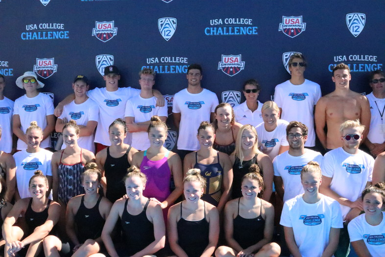 USA Swimming takes on Pac-12 in the USA College Challenge