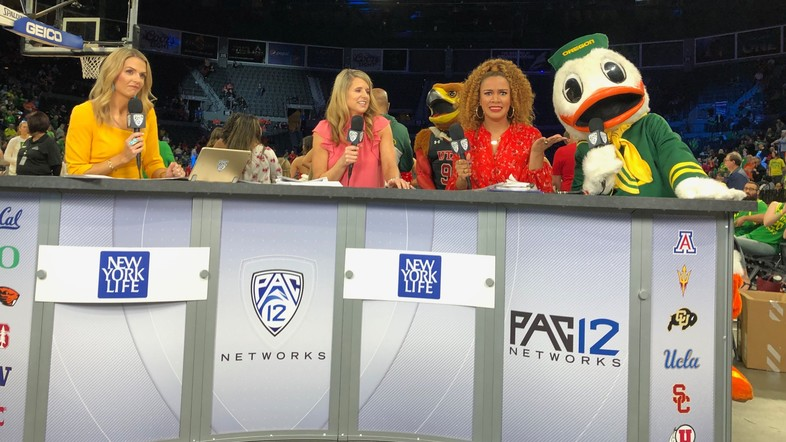 2020 Pac-12 Women's Basketball Tournament: Views from Las Vegas