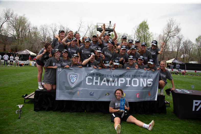 Paving the way -- No. 2 Stanford becomes the first-ever Pac-12 Women's Lacrosse Tournament Champion after defeating regular-season champ No. 1 Colorado in Boulder.