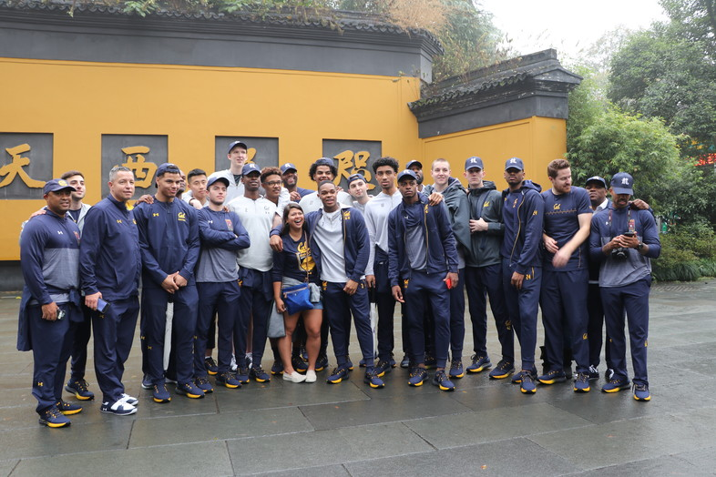 2018 Pac-12 China Game: Cal men's basketball ventures out to see the sights