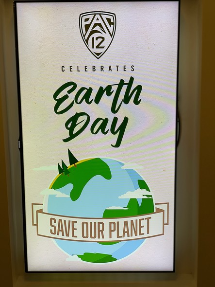 Pac-12 Team Green Celebrates Earth Day 2019