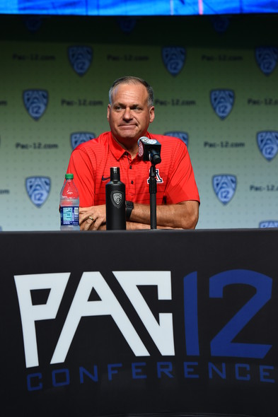 <p>Arizona head coach Rich Rodriguez</p>