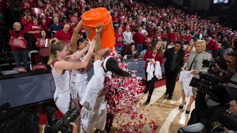 <p>Tara VanDerveer continues to build her legacy by becoming just the second NCAA women's basketball coach to get to 1,000 career wins. </p>