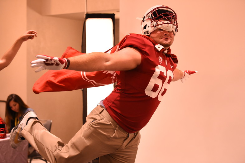 <p>Stanford's Harrison Phillips</p>