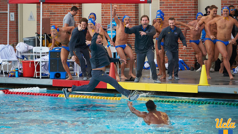 <p>The Bruins were walking on water after their men's water polo team brought home the 2017 NCAA Championship.</p>