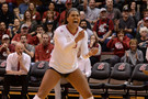 """<p>OCTOBER - Washington State women's volleyball <a href=""""http://pac-12.com/videos/washington-state-womens-volleyballs-taylor-mims-talks-being-5-0-pac-12-play"""" target=""""_blank"""">started conference play 5-0</a>, the best start in program history for the Cougs.</p>"""