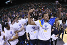 Photos: UCLA celebrates 2014 Pac-12 Men's Basketball Tournament Championship win