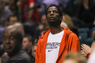 <p>Former NBA star A.C. Green(Oregon State 1981-1985) was in attendance for the Oregon and Oregon State first round game on Wednesday.</p>