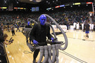 <p>Even the Blue Man Group got in on the Pac-12tournament action.</p>