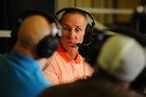 Oregon State head coach Gary Andersen talks with the media.