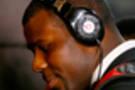 <p>Ohio State quarterback Cardale Jones arrives at AT&amp;T Stadium.</p>
