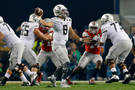 <p>Mariota looks to get his offense back on track in the second half.</p>
