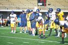 Photos: Football Training Camp shoot at Cal