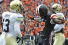 """<p>Brutal wind conditions did not bother the Beavers'<a href=""""http://pac-12.com/videos/postgame-interview-oregon-states-sean-mannion"""" target=""""_blank"""">Sean Mannion</a>,<a href=""""http://pac-12.com/videos/highlights-oregon-state-football-routs-colorado"""" target=""""_blank"""">who tossed a school-record six touchdown passes</a>in Oregon State's dominant win (<a href=""""http://pac-12.com/videos/oregon-state-colorado-brandin-cooks-postgame-interview"""" target=""""_blank"""">hi, Brandin Cooks</a>). Don't look now, but<a href=""""http://pac-12.com/videos/mike-riley-oregon-state-colorado-postgame-interview"""" target=""""_blank"""">Mike Riley's</a>squad has now ripped off four straight wins since its season-opening loss to Eastern Washington. The Beavers have a bye next, while Colorado<a href=""""http://pac-12.com/event/2013/10/05/oregon-colorado"""" target=""""_blank"""">hostsOregon</a>.</p>"""