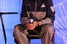 <p>Arizona Wildcats junior guard Nick Johnson rocking his Nike kicks.</p>