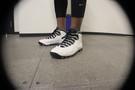 <p>Arizona State Sun Devils sophomore guard Jahii Carson's Nike kicks.</p>