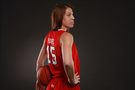 <p>Utah forward Michelle Plouffe</p>