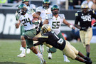 "<p>The Buffaloes might have been thinking upset when they were up 10-8 early, but <a href=""http://pac-12.com/videos/postgame-interview-oregons-marcus-mariota"" target=""_blank"">Marcus Mariota</a> and the Ducks quickly <a href=""http://pac-12.com/videos/video-recap-oregon-football-routs-colorado"" target=""_blank"">put an end to that</a>. Oregon's quarterback threw for 355 yards in the blowout win, and that's with him leaving the game midway through the third quarter. <a href=""http://pac-12.com/videos/postgame-interview-oregon-head-coach-mark-helfrich"" style=""line-height: 1.6em;"" target=""_blank"">Here's Mark Helfrich</a><span style=""line-height: 1.6em;""> and </span><a href=""http://pac-12.com/videos/postgame-interview-oregons-bralon-addison"" style=""line-height: 1.6em;"" target=""_blank"">here's Bralon Addison</a><span style=""line-height: 1.6em;""> on the victory</span><span style=""line-height: 1.6em;"">. </span>Both teams hit the road in week 7: <a href=""http://pac-12.com/event/2013/10/12/oregon-washington"">Oregon is at Washington</a> and <a href=""http://pac-12.com/event/2013/10/12/colorado-arizona-state"">Colorado is at Arizona State</a>.</p>"