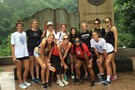 <p>The Pac-12 all-stars marked their trip to Yuhua Cave near Sanming with a nice group shot Friday.</p>