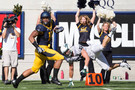"<p>The Golden Bears wound up in more of a dogfight than they probably bargained for, but a strong second half helped them <a href=""http://pac-12.com/event/2013/09/07/portland-state-california"" target=""_blank"">secure Sonny Dykes' first Pac-12 win</a>. In case you missed it, here's <a href=""http://pac-12.com/videos/maurice-harris-makes-sensational-one-handed-catch"" target=""_blank"">Maurice Harris' ridiculous one-handed touchdown catch</a>. Cal will have to use some of the creativity they featured against Northwestern as they welcome <a href=""http://pac-12.com/event/2013/09/14/ohio-state-california"" target=""_blank"">Ohio State to Berkeley on Saturday, Sept. 14</a>.</p>"