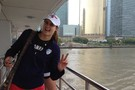 <p>Stanford outside hitter Brittany Howard and the rest of the Pac-12 squad saw the sights in style during a cruise on the Huangpu River Tuesday in Shanghai.</p>