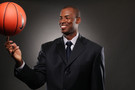 <p>New Pac-12 Networks basketball analyst Jarron Collins.</p>