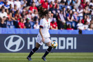 Tierna Davidson of United States in action during the 2019 FIFA Women's World Cup France group F match between USA and Chile at Parc des Princes on June 16, 2019 in Paris, France.