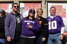 Washington fans gear up to cheer on their Huskies.