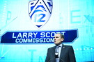 <p>Pac-12 commissioner Larry Scott</p>