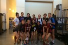 <p>The all-starsgathered for a group shot in their normal attire Saturday during practice at USC.</p>