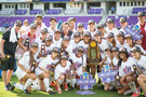 <p>The Cardinal made it a sweep, as the women's soccer team brought home a National title as well.</p>