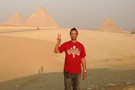 <p>Fighting On at the pyramids in Egypt.</p>