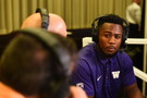 <p>Washington's Keishawn Bierria</p>
