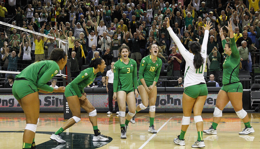 Oregon Women's Volleyball   Pac-12