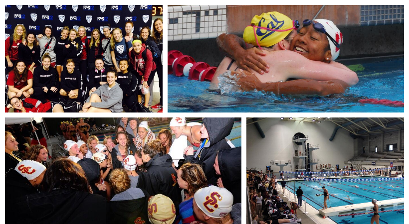 Pac-12 Swimming & Diving Championships social media photos