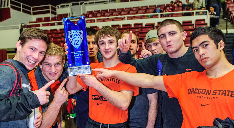 Oregon State wrestling reflects on three-peat performance
