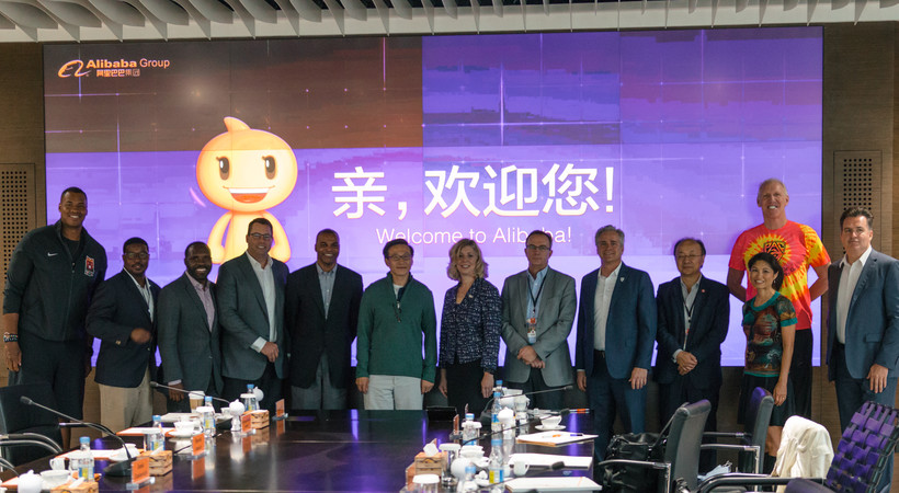 Pac-12 extends agreement with Alibaba Group to support basketball game in China