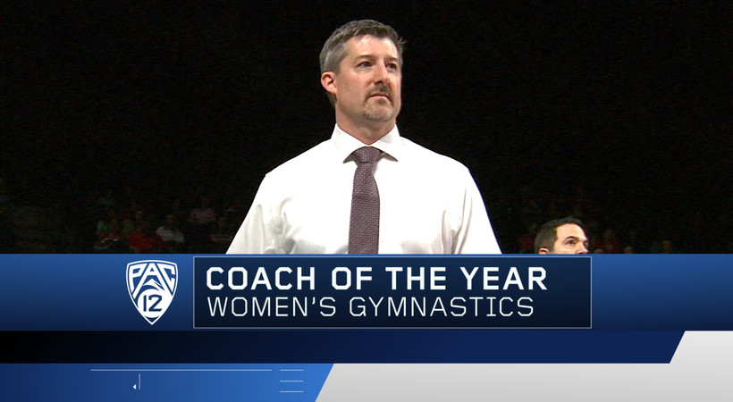 Arizona State's Jay Santos named 2018 Pac-12 Women's Gymnastics Coach of the Year