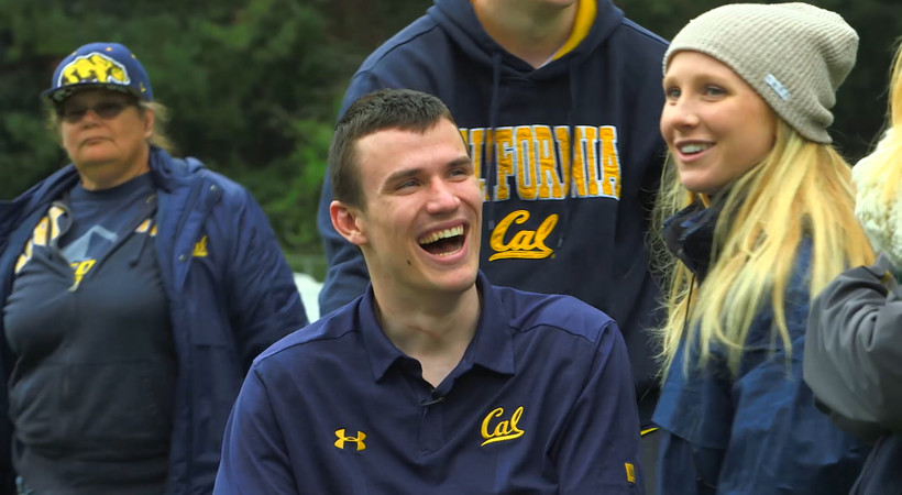 Cal's Robert Paylor defies all odds in recovery from partial paralysis