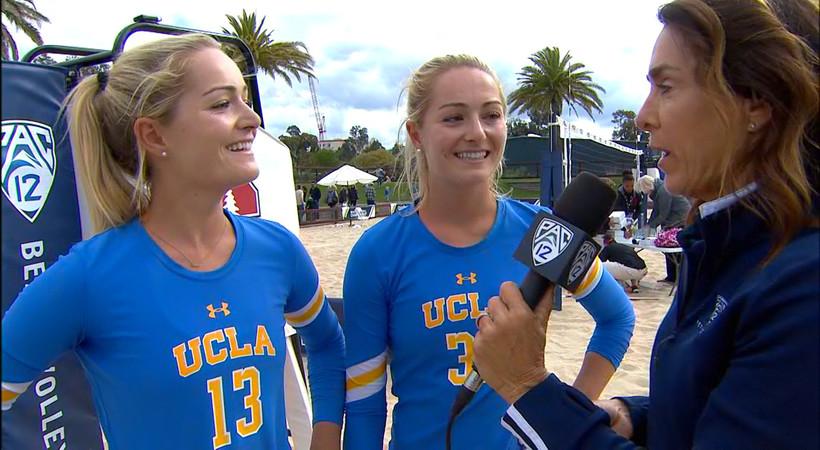 UCLA's Megan & Nicole McNamara on feelings heading into NCAA Tournament: 'We're the team to beat'