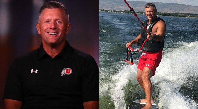 2017 Pac-12 Football Media Days: Utah's Kyle Whittingham channels David Hasselhoff comparisons