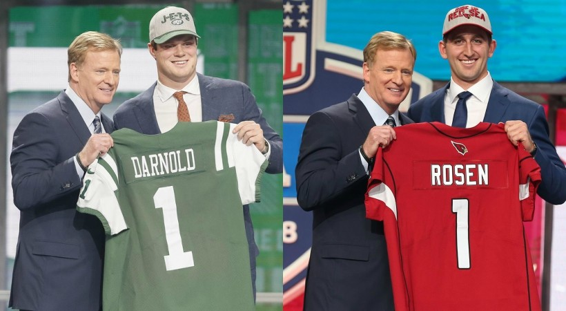 2018 Nfl Draft Sam Darnold Goes 3rd 4 Pac 12ers Taken In