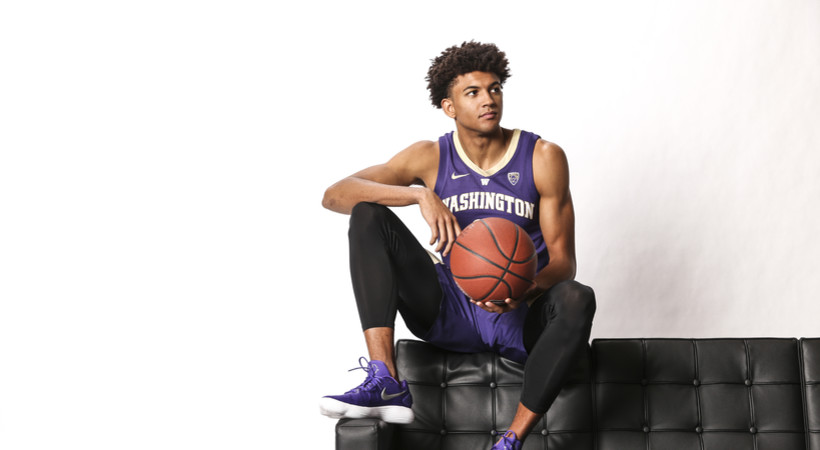 2018 Pac-12 Men's Basketball Media Day: Experienced Washington team facing high expectations