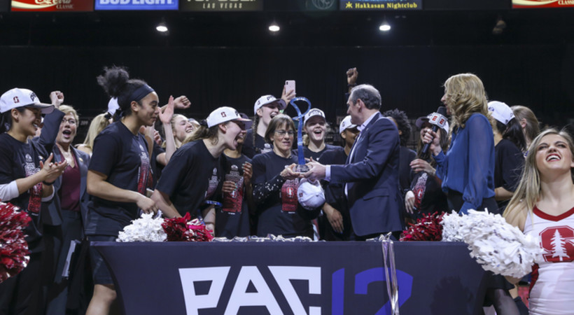 Michelle Smith WBB Feature: Stanford executes game plan to claim 13th Pac-12 title