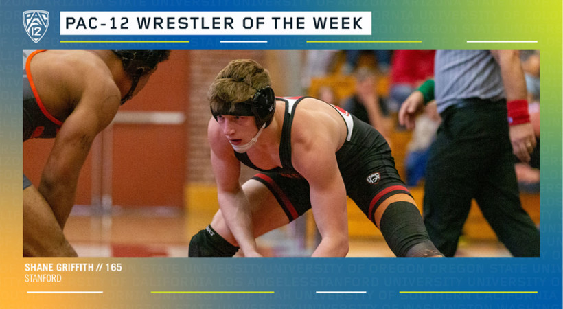 Pac-12 announces Wrestler of the Week