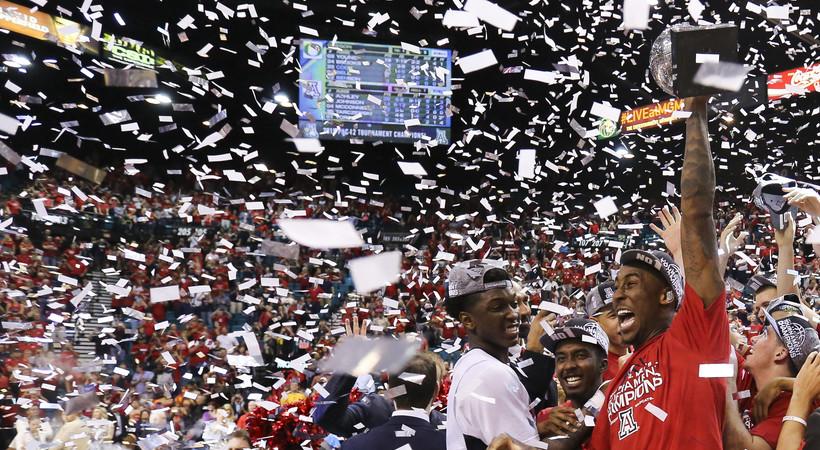 Pac-12 Tournament photos: Arizona takes the title