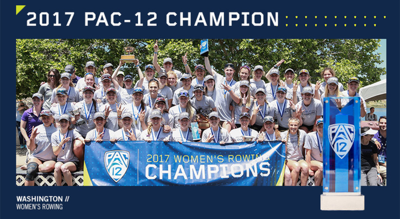 Washington sweeps Pac-12 Men's and Women's Rowing Championship
